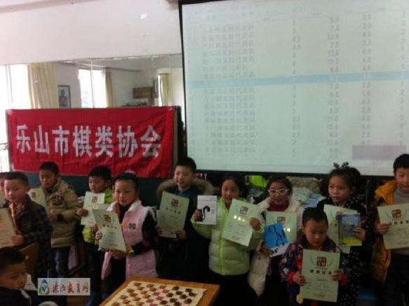 乐山市/本次比赛按照小棋手的棋龄分为入门组和精英组,并按参与人数设...