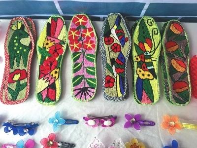 四川手工鞋垫花样图案