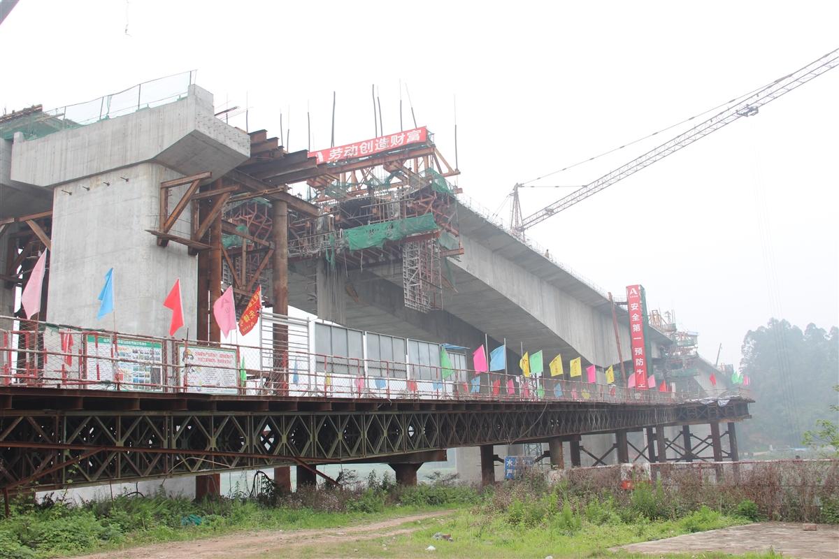 乐自高速乐山城区连接线