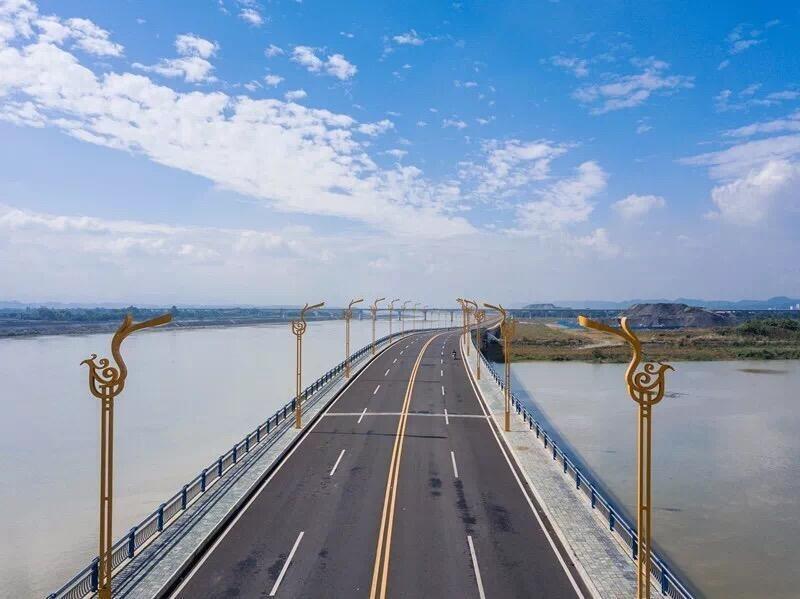乐山城建重大项目创造新速度